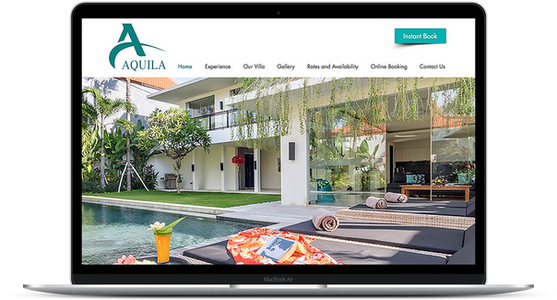 Aquila Villa - Travel Accomodations Website