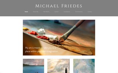 Michael Friedas - Artist Website
