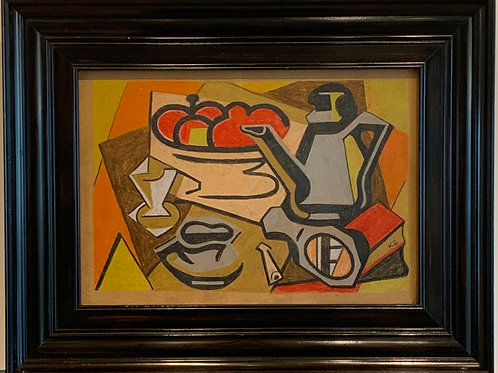 Avant Garde Cubist Still Life