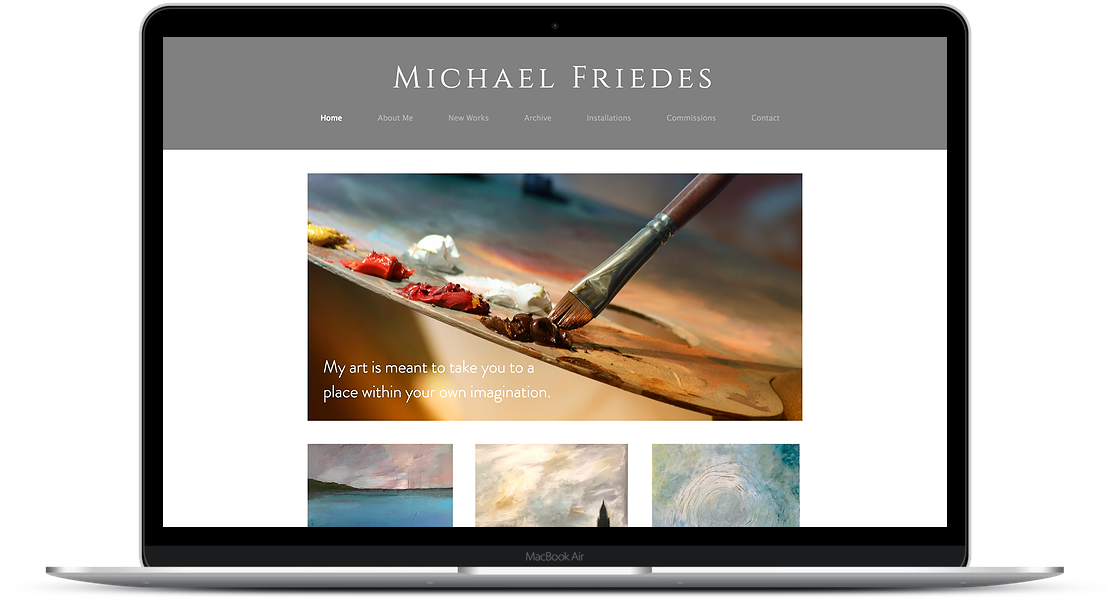 Michael Friedes - Artist Website