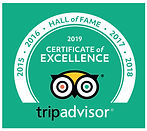 Roger's Glass Bottom Boat Tours Trip Advisor Certificat of Excellence 2019