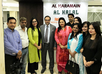 Bangla Stars Galore at Al Haramain Perfumes Group Head Office