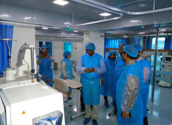 Al Haramain Hospital Visited By Chairman of the National Human Rights Commission of Bangladesh