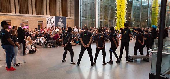 DEAFinitely Crew performs at Boston Museum of Fine Arts (MFA)
