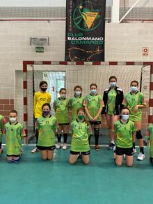 El Alevín Fem. Alquileres del Saja-Camargo se proclama campeón de Cantabria a falta de dos jornadas