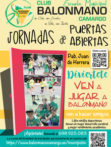 """Tendremos jornadas de """"Puertas Abiertas"""" para los colegios de Camargo durante el mes de abril"""