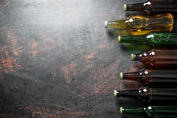 closed-beer-bottles-BXZ9D4D.jpg