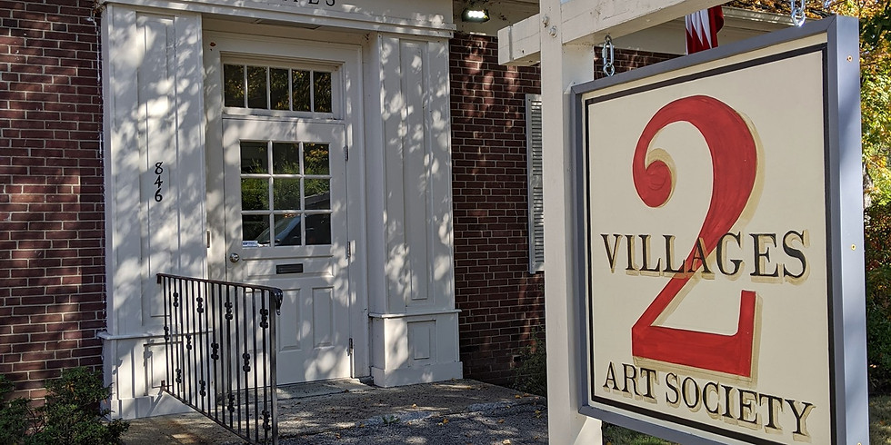 Art on the Porch with 2 Villages Art Society