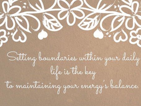 WHY PROTECTING YOUR ENERGY IS SO IMPORTANT