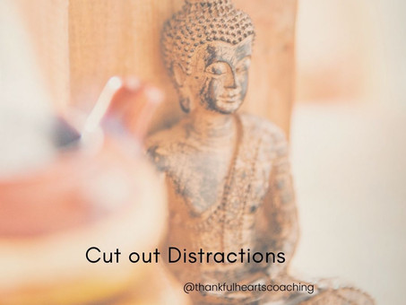 Cutting Out Distractions Promotes Calmness & Focus