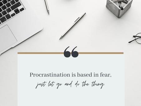 Procrastination and Perfection