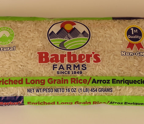 Rice in 1 lb. bags