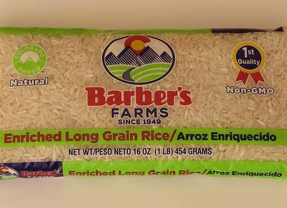 Rice in 1 lb. bags