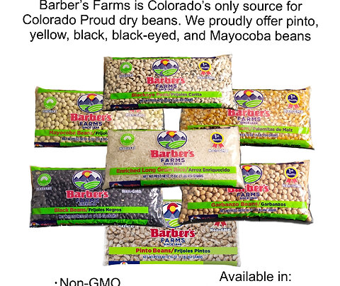 Five types of Colorado Proud beans - free shipping!
