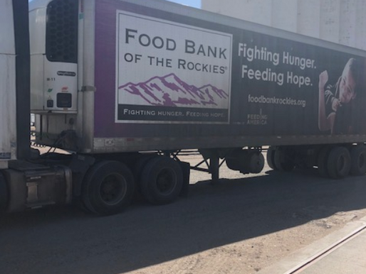 CDBC Donates Beans to the Food Bank of the Rockies