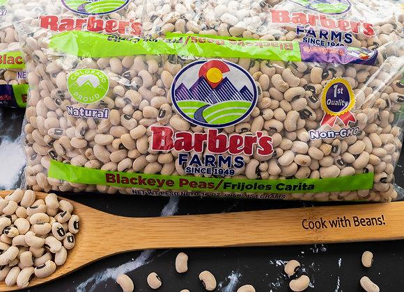 Black-eyed peas in 1 lb. bags