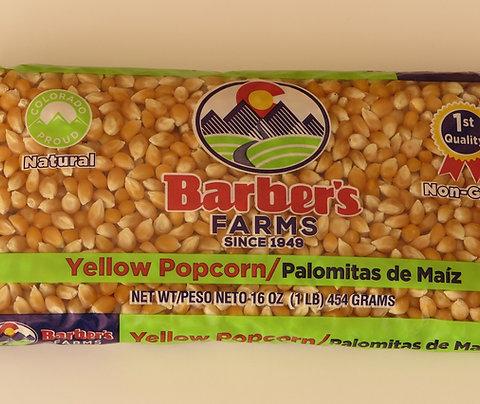 Popcorn in 1 lb. bags