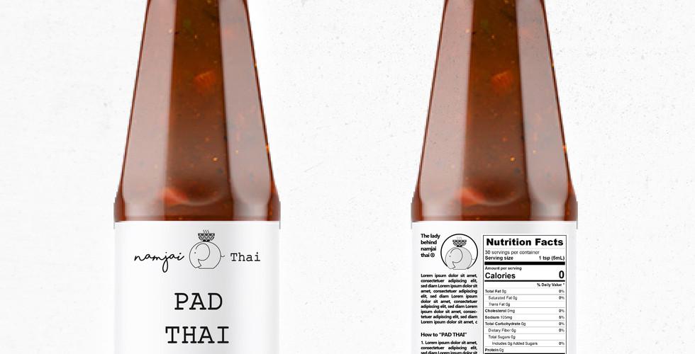 Nam Jai Thai Sauce Label