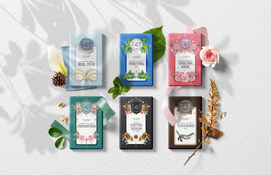 RUS soap packaging