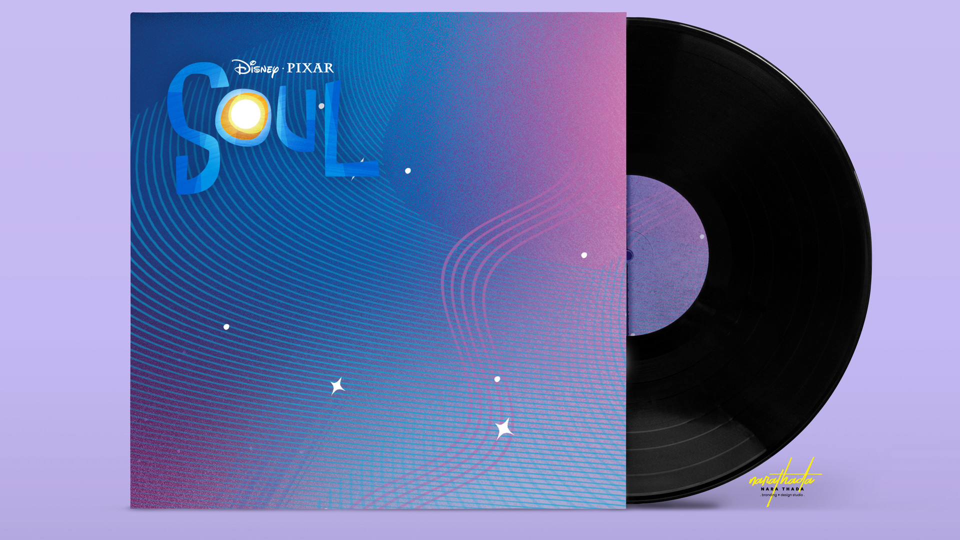 Disney SOUL Vinyl Mock Up