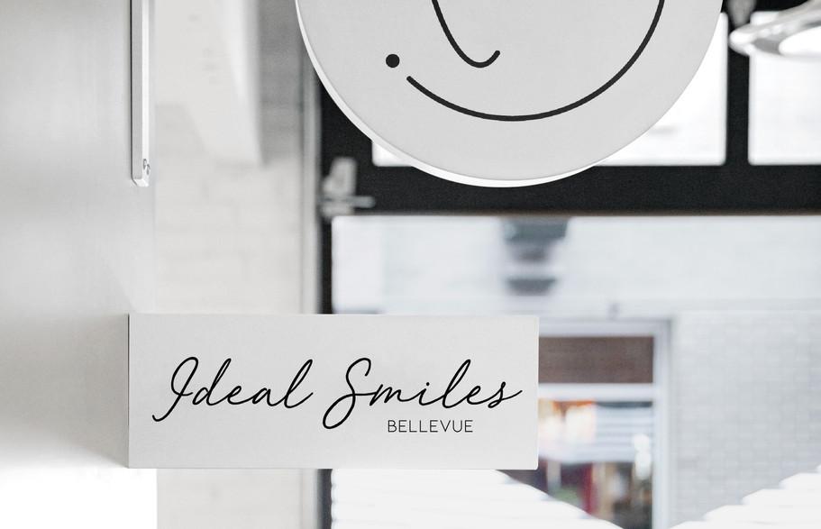 Ideal Smiles Dental Logo
