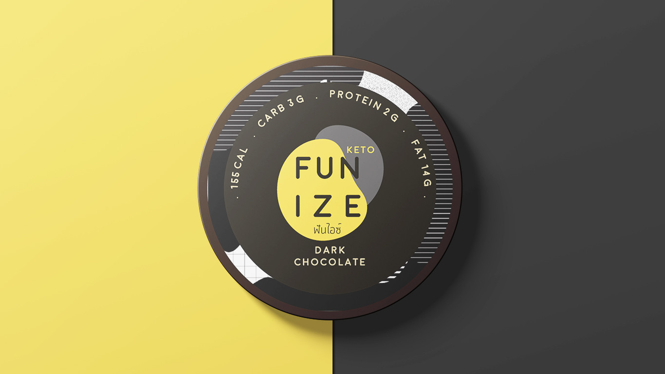 Fun Ize Ice Cream Packaging