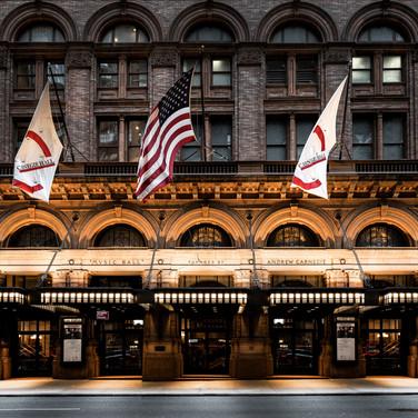 Carnegie Hall, Manhattan.