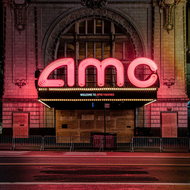 AMC Theatre, 42nd Street, Manhattan.