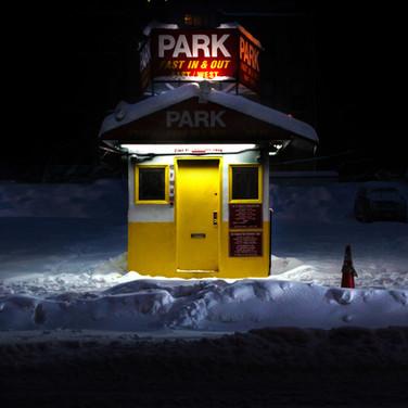 Manhattan Parking Hut, Hell's Kitchen.