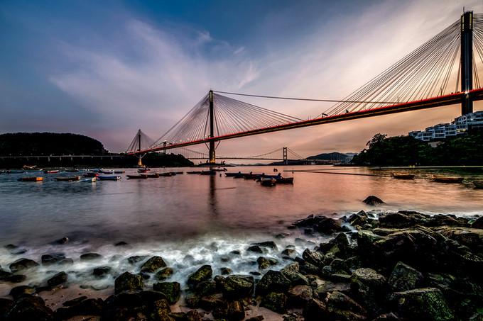 Ting Kau Bridge, Hong Kong