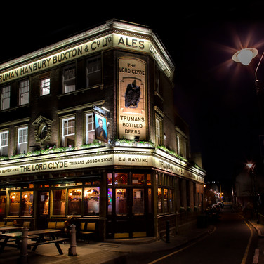 The Lord Clyde Pub, London.