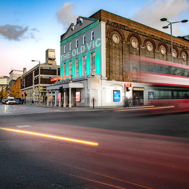The Old Vic Theatre, London.