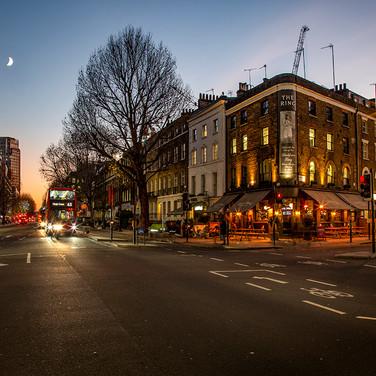 Blackfriars Road, London.