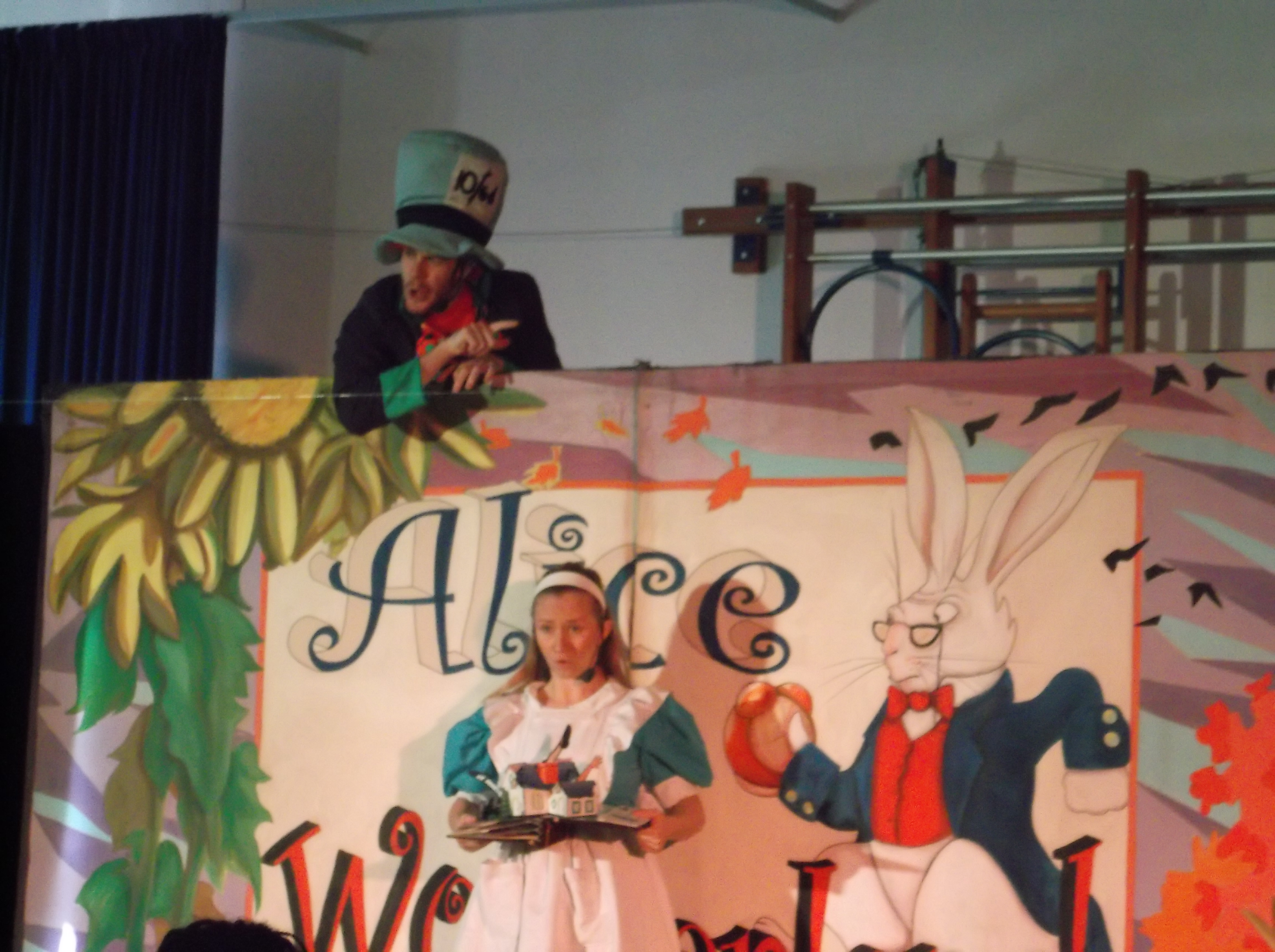 ALICE IN WONDERLAND VISITS KS1!