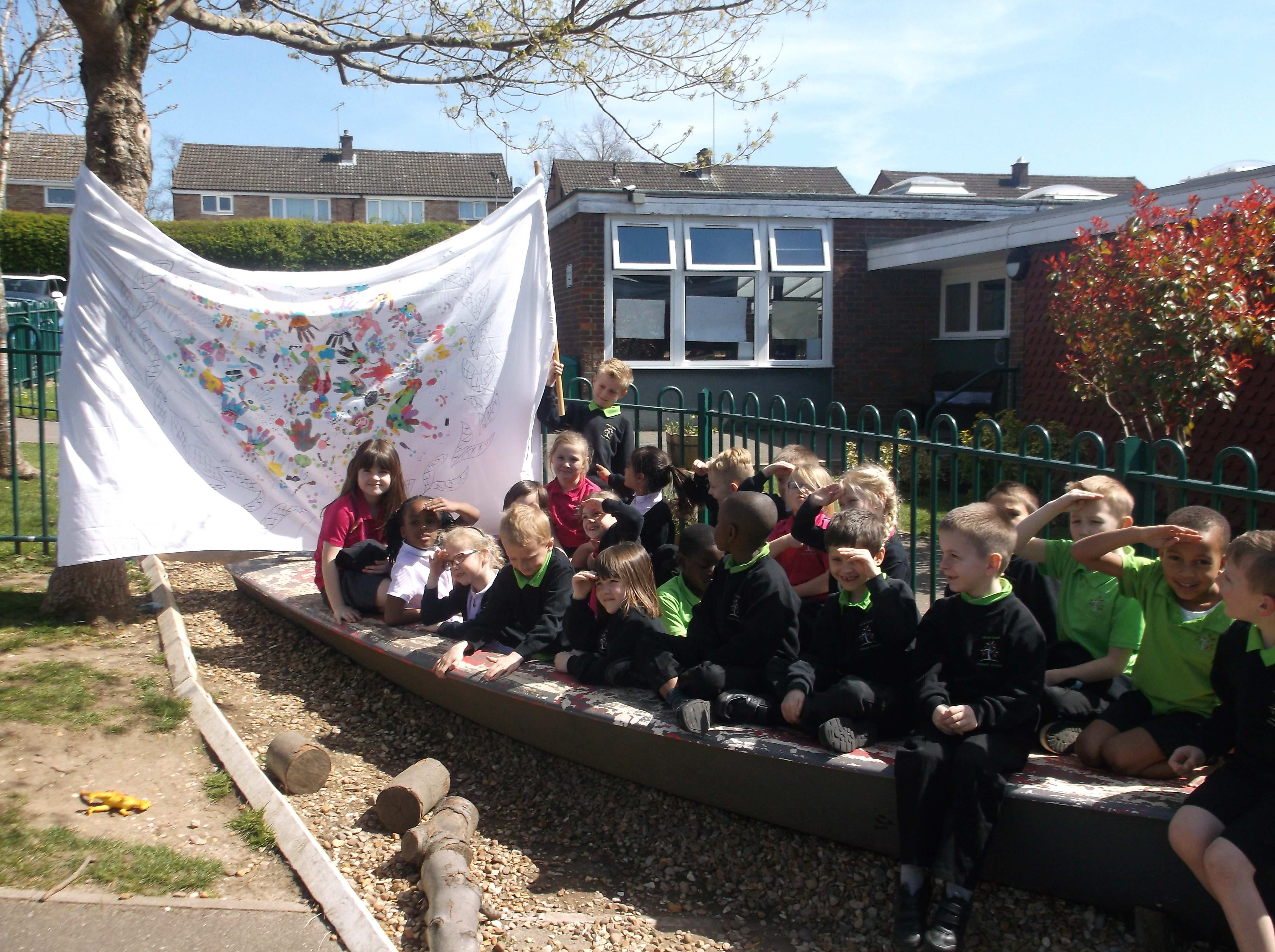 KS1 ART SAIL