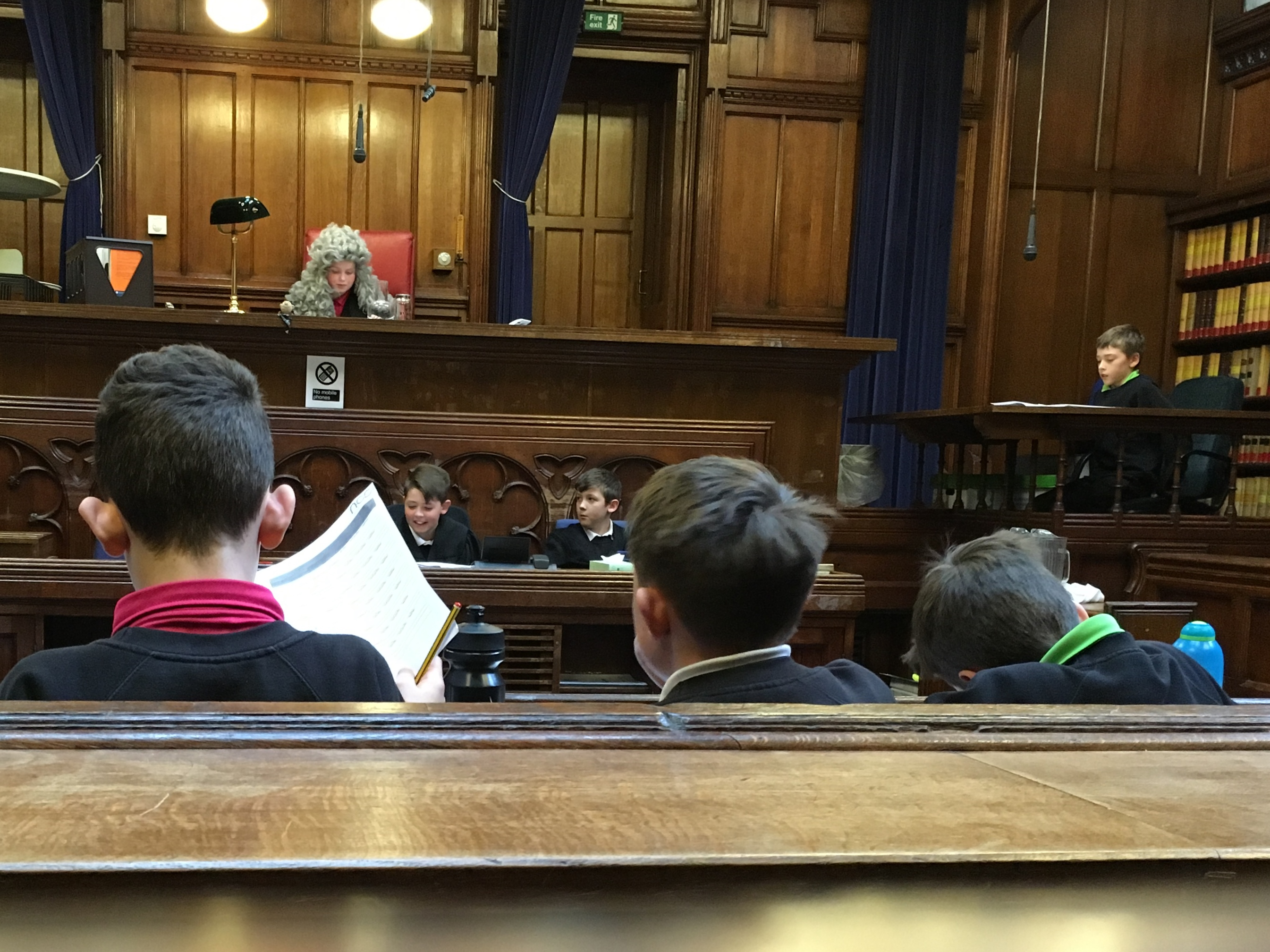 UKS2 Trip Royal Courts of Justice