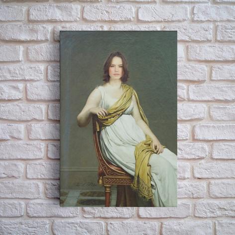 Portrait de madame de Verninac