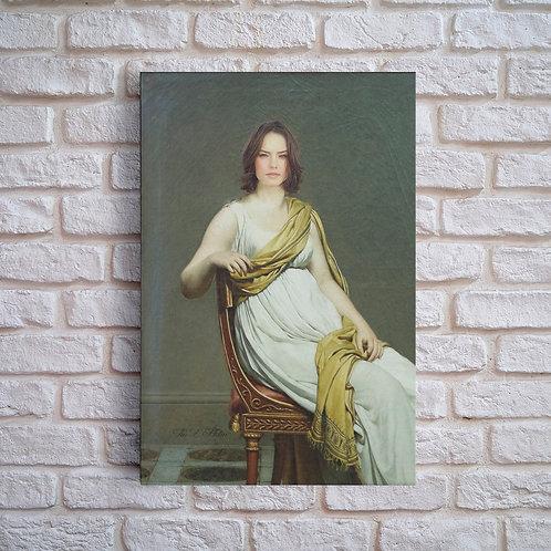 Toile David Louvre
