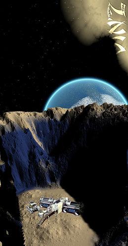 Base espace (earth rise)