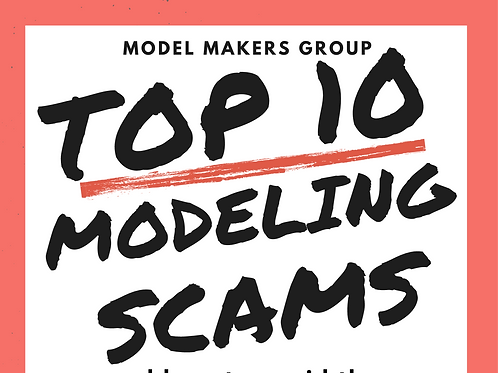 Top 10 Modeling Scams Book