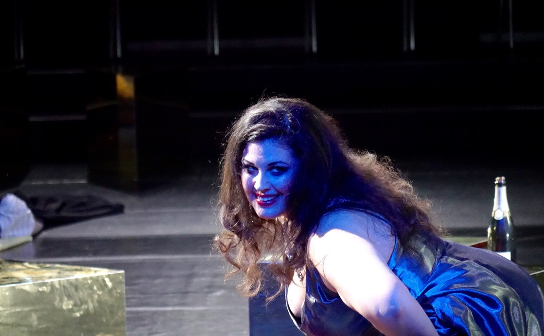 As Fortunata in Satyricon (rehearsal), Salzburg Ostfestspiele 2018