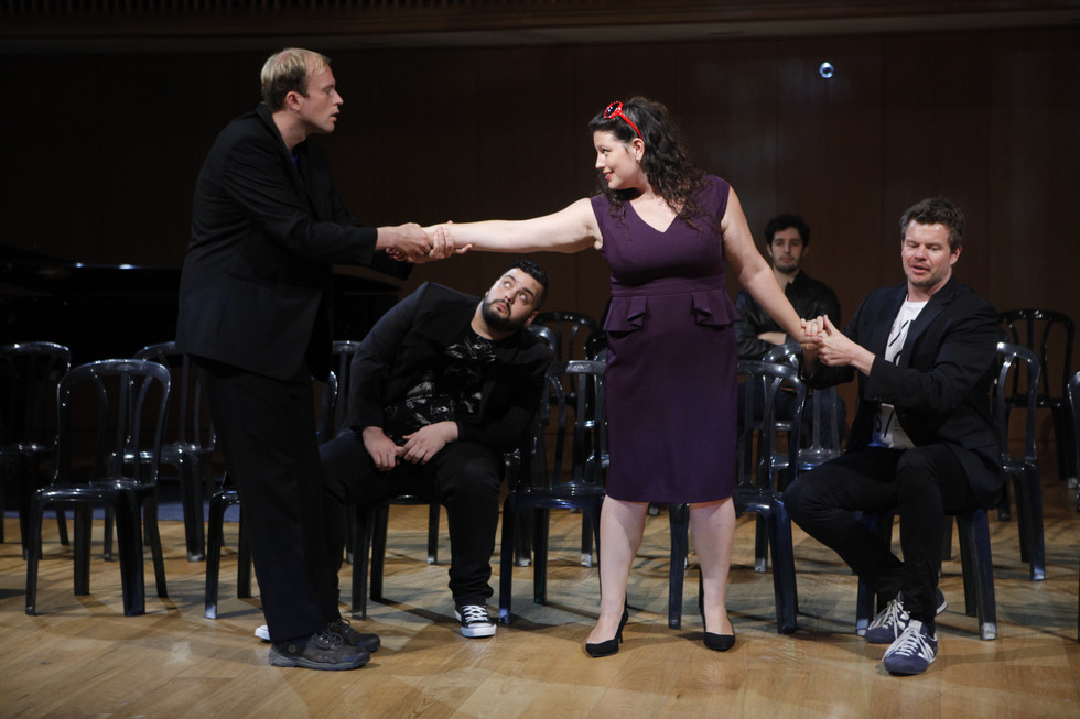 As Maddalena in Rigoletto - The Tel-Aviv Summer Opera Workshop 2015