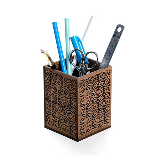 Modern Mosaic Pencil Holder