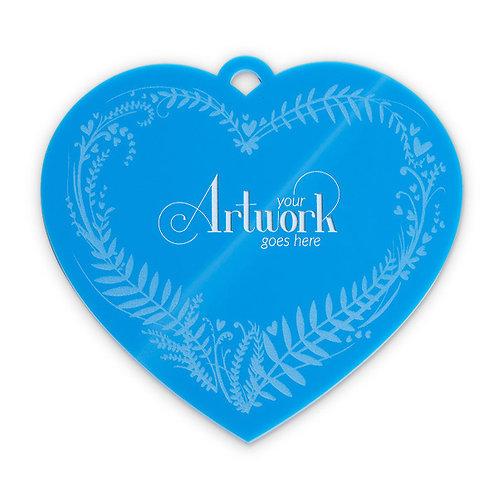 Blooming Love Heart Plaque