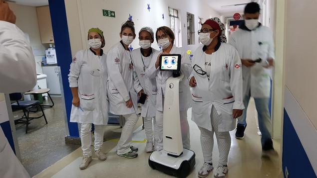 Doação do Robios para o Hospital Cajuru