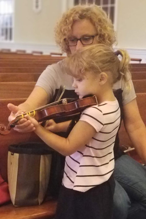 Wednesdays 6:30 PM - 7:00 PM Violin or Viola Private Lesson