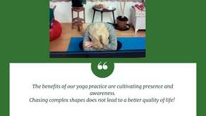 Presence versus performance in your yoga practice