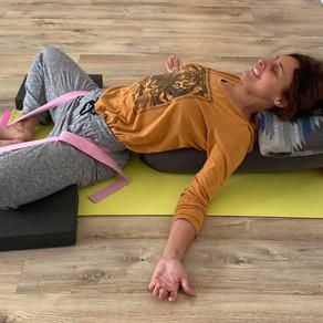 Tension - fatigue - sensory overload - can yoga help?