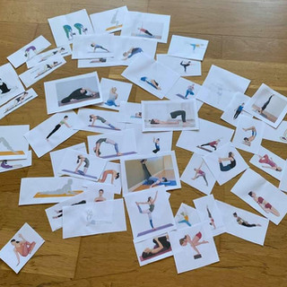 Yoga Teacher Training UK - interactive activity yoga poses game