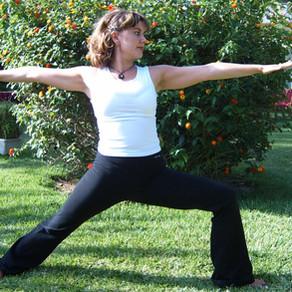 Virabhadrasana 1, 2, 3 - the Yoga Warriors we need!